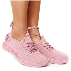 PS1 Damskie Sportowe Buty Slip-on Różowe Do It