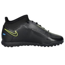 Buty piłkarskie Nike Phantom Gt Club Df Tf Junior CW6729 090 czarne czarne