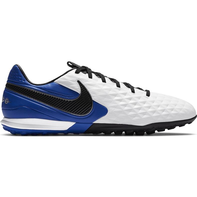 Buty piłkarskie Nike Tiempo Legend 8 Pro Tf AT6136 104 niebieskie białe
