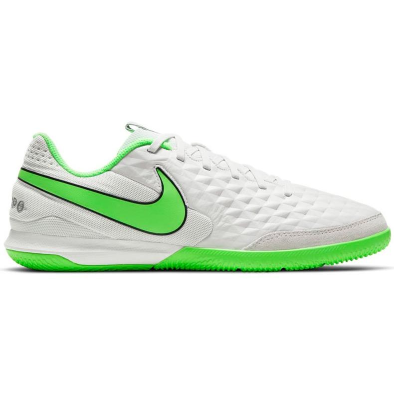 Buty piłkarskie Nike Tiempo Legend 8 Academy Ic AT6099 030 białe białe