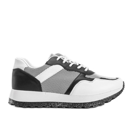Czarne sneakersy sportowe Antonia