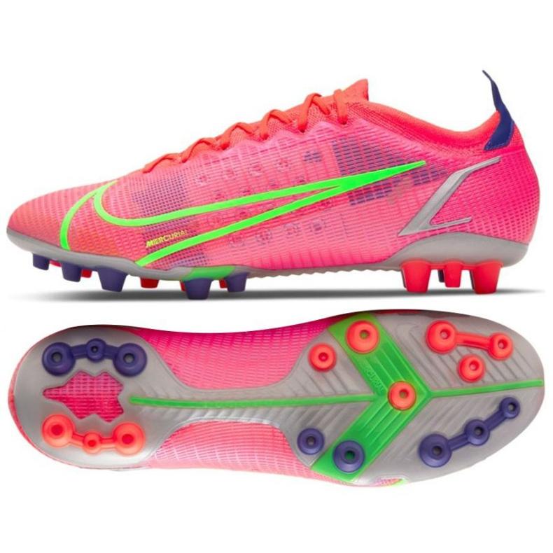 Buty piłkarskie Nike Mercurial Vapor 14 Elite Ag M CZ8717 600 czerwone czerwone