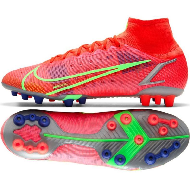 Buty piłkarskie Nike Mercurial Superfly 8 Elite Ag M CV0956 600 czerwone czerwone