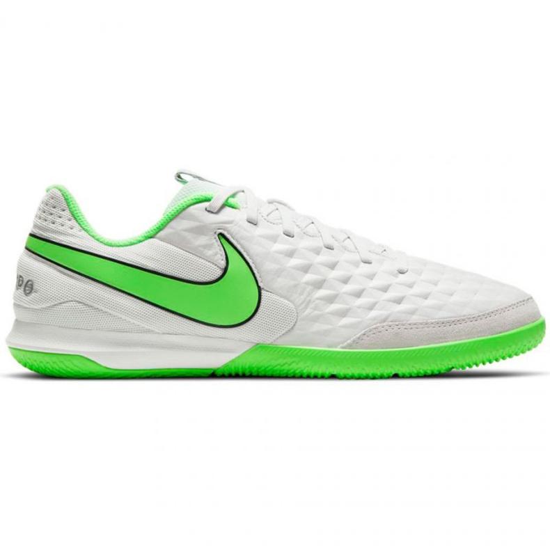 Buty piłkarskie Nike Tiempo Legend 8 Academy Ic M AT6099-030 białe białe