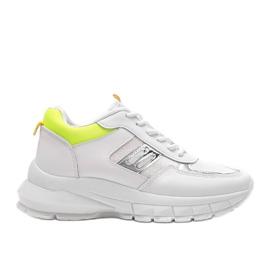 Białe sneakersy sportowe Dana