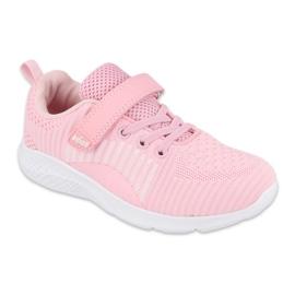 Befado obuwie młodzieżowe  516Q060 różowe