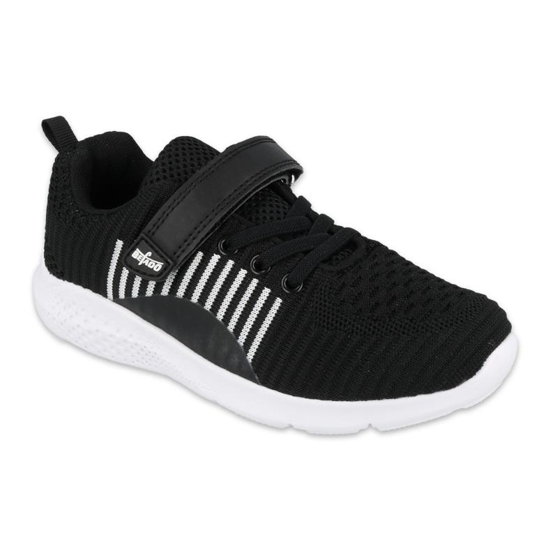 Befado obuwie młodzieżowe  516Q062 białe czarne
