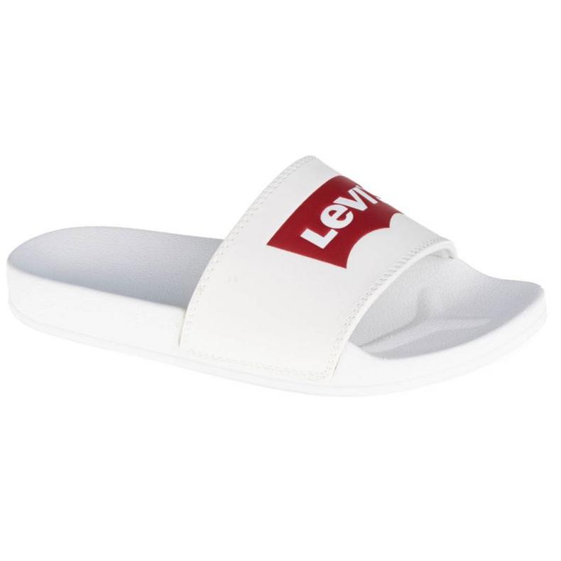 Klapki Levi's Batwing Slide 229170-794-51 białe