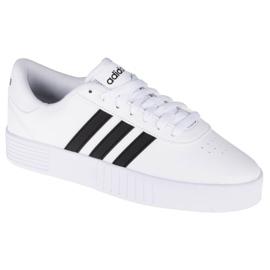 Buty adidas Court Bold W FY7795 białe granatowe