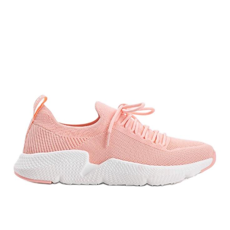 Big Star Różowe sneakersy Catlin