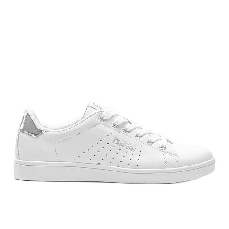 Big Star sneakersy niskie klasyczne białe Angelise