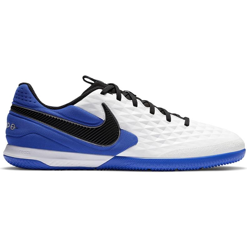 Buty piłkarskie Nike Tiempo React Legend 8 Pro Ic AT6134 104 niebieskie białe