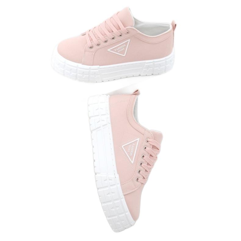 Trampki damskie różowe LA134 Pink