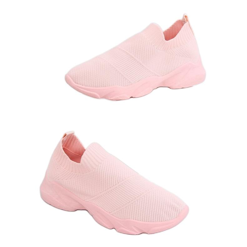Buty sportowe skarpetkowe różowe NB399 Pink