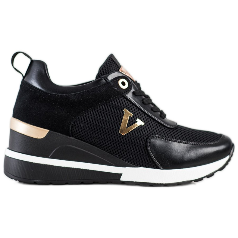 Casualowe Sneakersy VINCEZA czarne