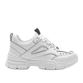 Białe sneakersy sportowe Christy