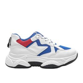 Białe sneakersy sportowe Aubrie