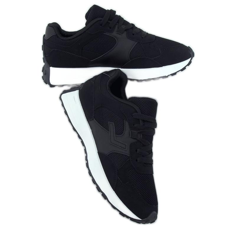 Buty sportowe czarne BL209P Black