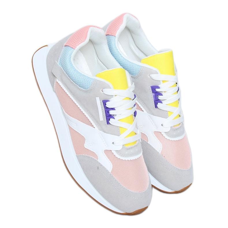 Buty sportowe damskie wielokolorowe NB372 LT.PINK białe niebieskie różowe szare żółte