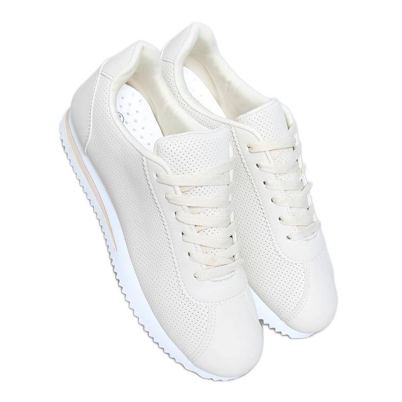 Buty sportowe beżowe BL221P Beige beżowy