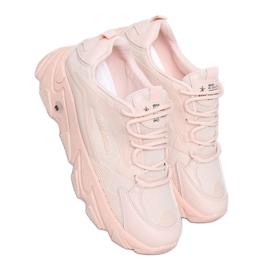 Buty sportowe damskie różowe NB373P Pink
