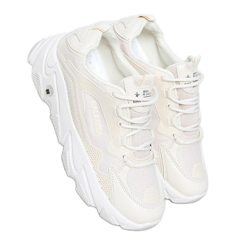 Buty sportowe damskie beżowe NB373P Beige beżowy