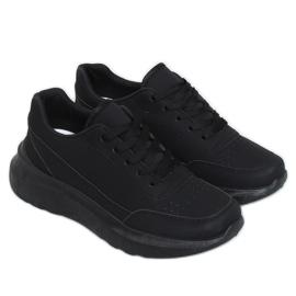 Buty sportowe damskie czarne LA131 Black