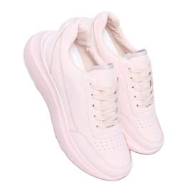 Buty sportowe damskie różowe LA131 Pink