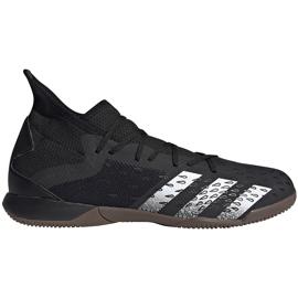 Buty piłkarskie adidas Predator Freak.3 In FY1032 czarne czarne