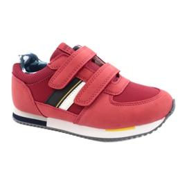 American Club Sportowe buty American czerwone RH24