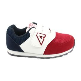 American Club Buty sportowe wkładka skórzana American BS01 BS02 Red białe czerwone granatowe