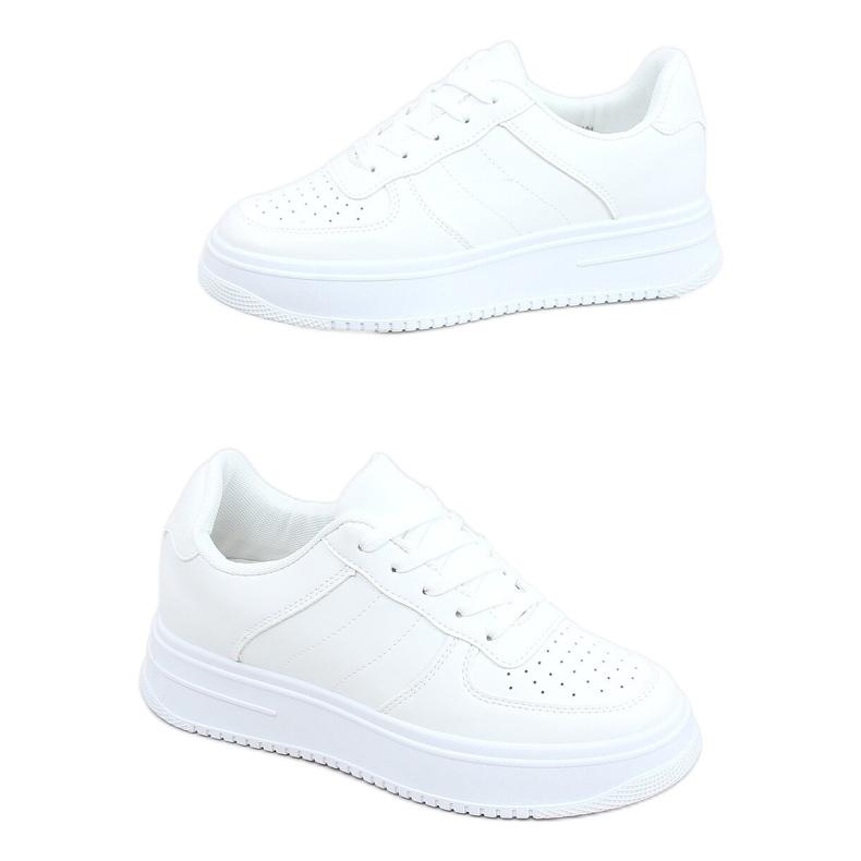Buty sportowe damskie białe G191 White