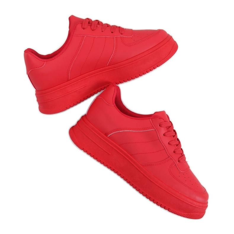 Buty sportowe damskie czerwone G191 Red