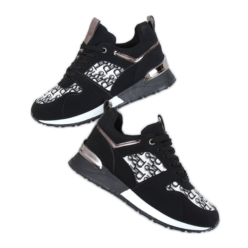 Buty sportowe czarne AB835 Black