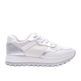 Białe sneakersy sportowe Antonia
