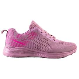 Bona Lekkie Buty Sportowe różowe