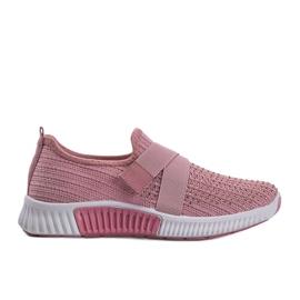 Różowe obuwie sportowe wsuwane Akira