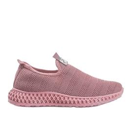 Różowe obuwie sportowe wsuwane Katy