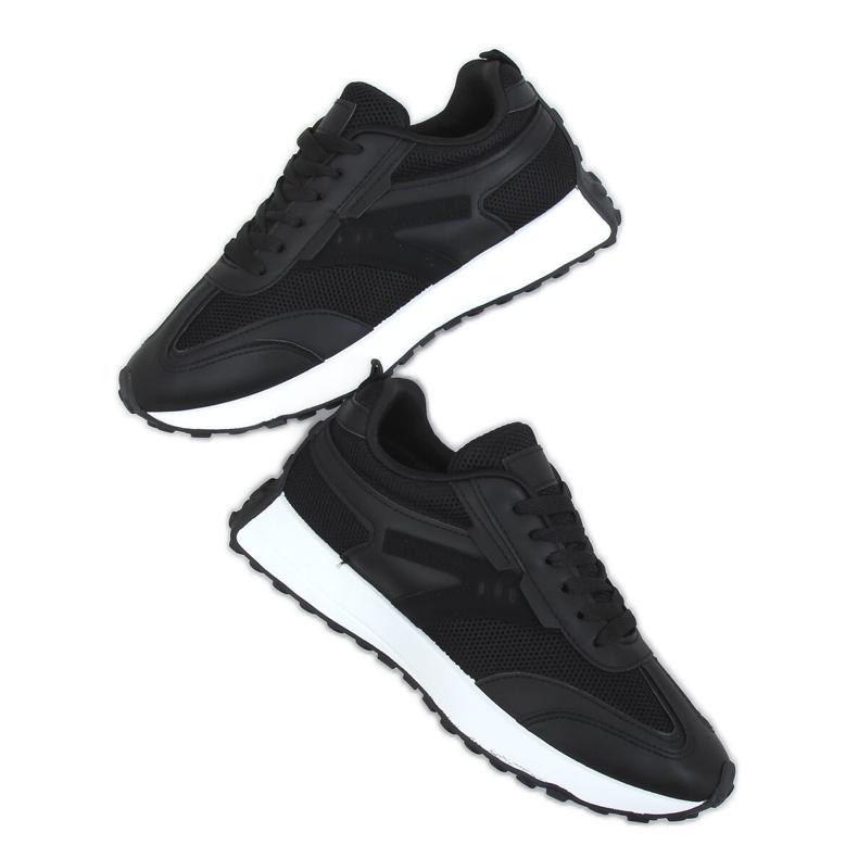 Buty sportowe czarne 6115 Black
