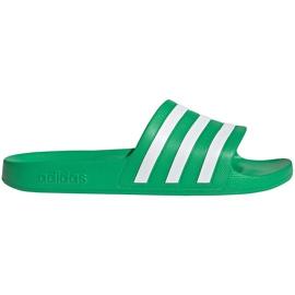 Klapki adidas Adilette Aqua zielone FY8048