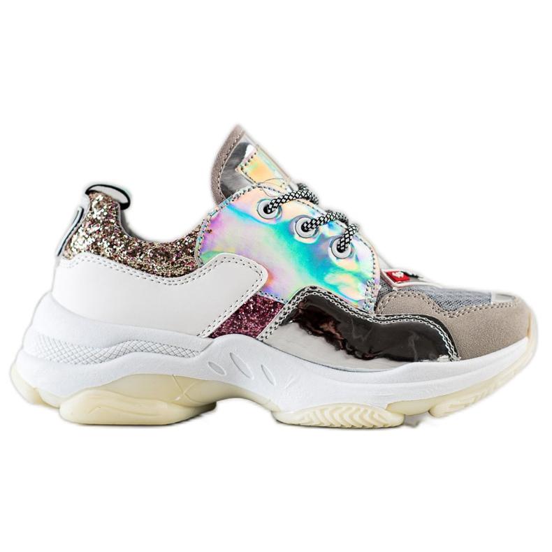 SHELOVET Kolorowe Sneakersy Sport Fashion wielokolorowe