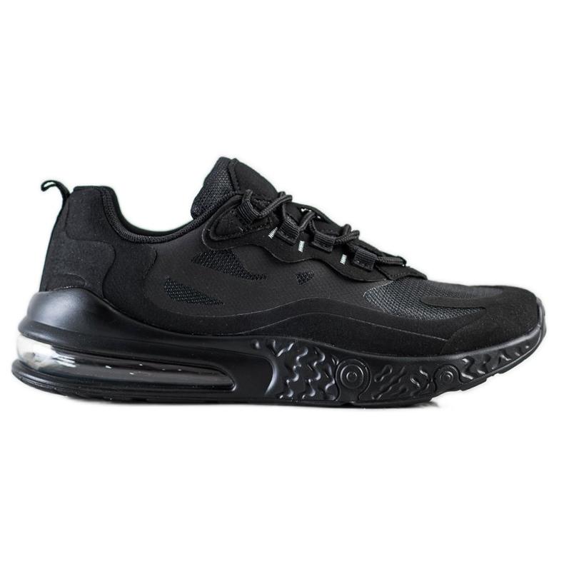 SHELOVET Tekstylne Sneakersy czarne