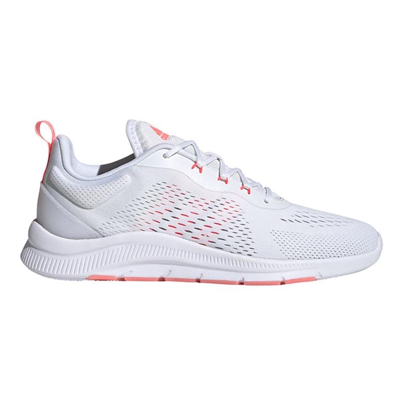 Buty damskie adidas Novamotion biało-różowe FW3256 białe