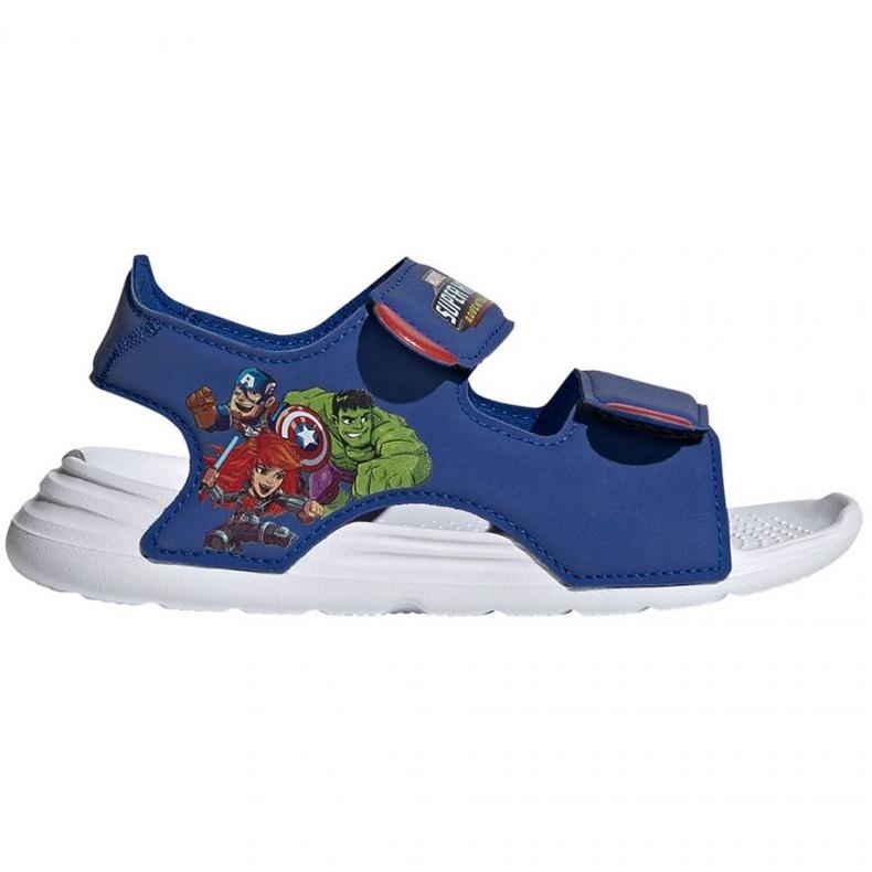 Sandały adidas Swim Sandal C Jr FY8938 granatowe