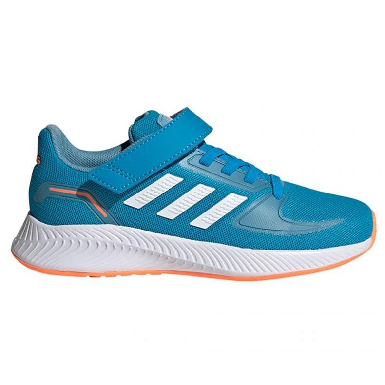 Buty adidas Runfalcon 2.0 C Jr FZ2961 czarne niebieskie