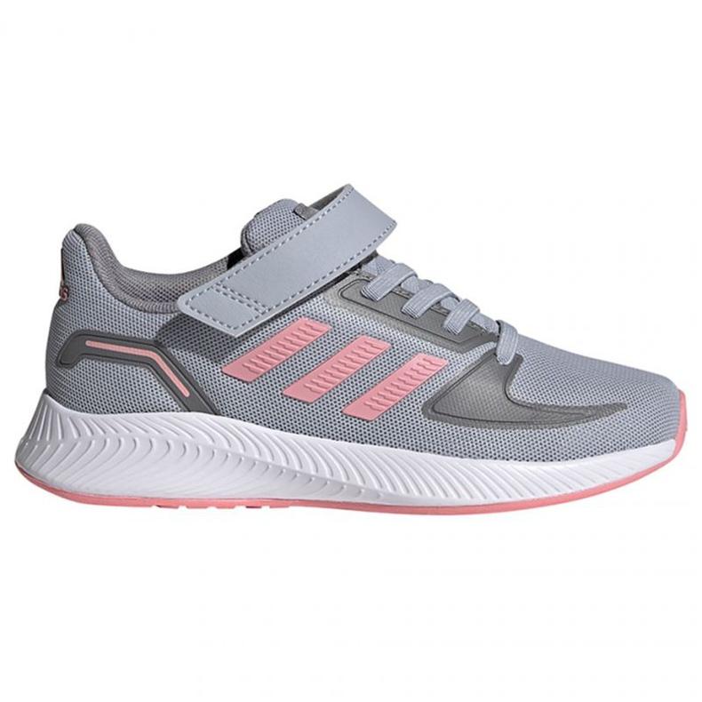Buty adidas Runfalcon 2.0 C Jr FZ0111 różowe szare