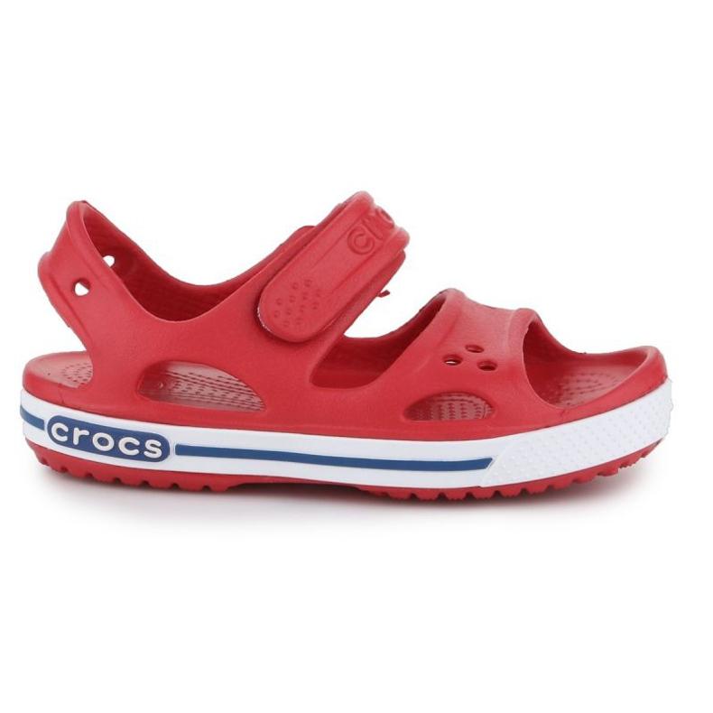 Sandały Crocs Crocband Ii Sandal Jr 14854-6OE czerwone