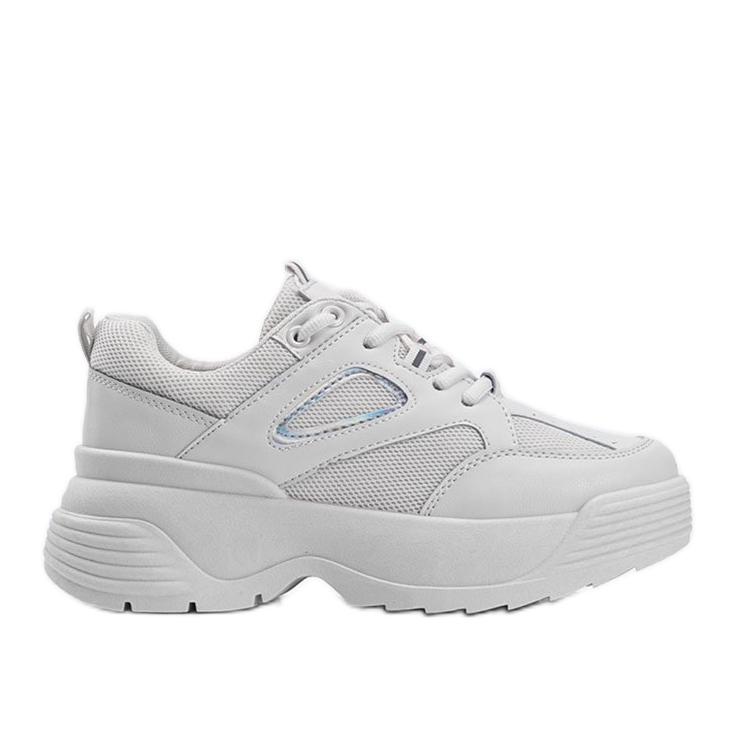 Beżowe sneakersy na grubej podeszwie Jaida beżowy