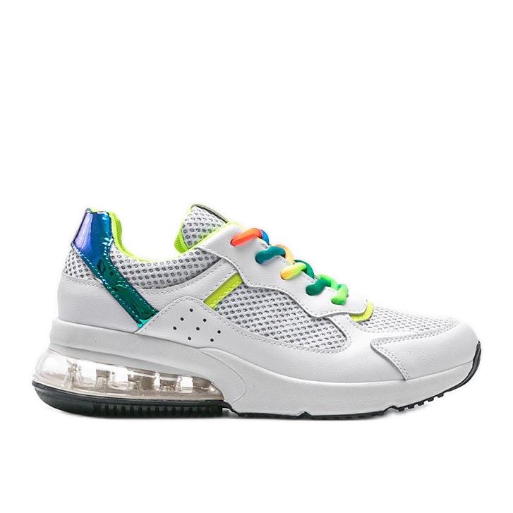 Białe obuwie sportowe damskie Ashlee