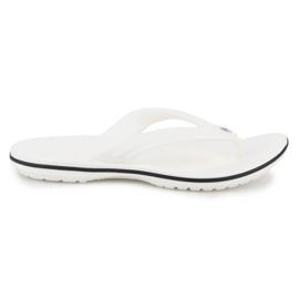 Japonki Crocs Crocband Flip W 11033-100 białe